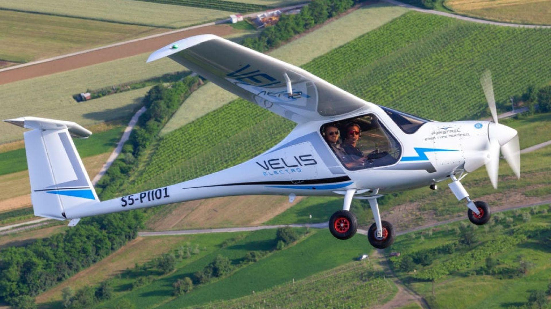 Европа сертифицира първи електрически самолет