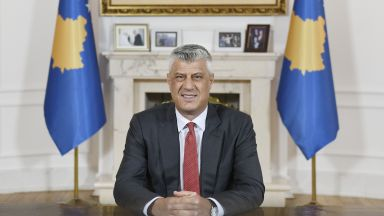 Президентът на Косово подава оставка, ако Трибуналът в Хага потвърди обвиненията за военни престъпления