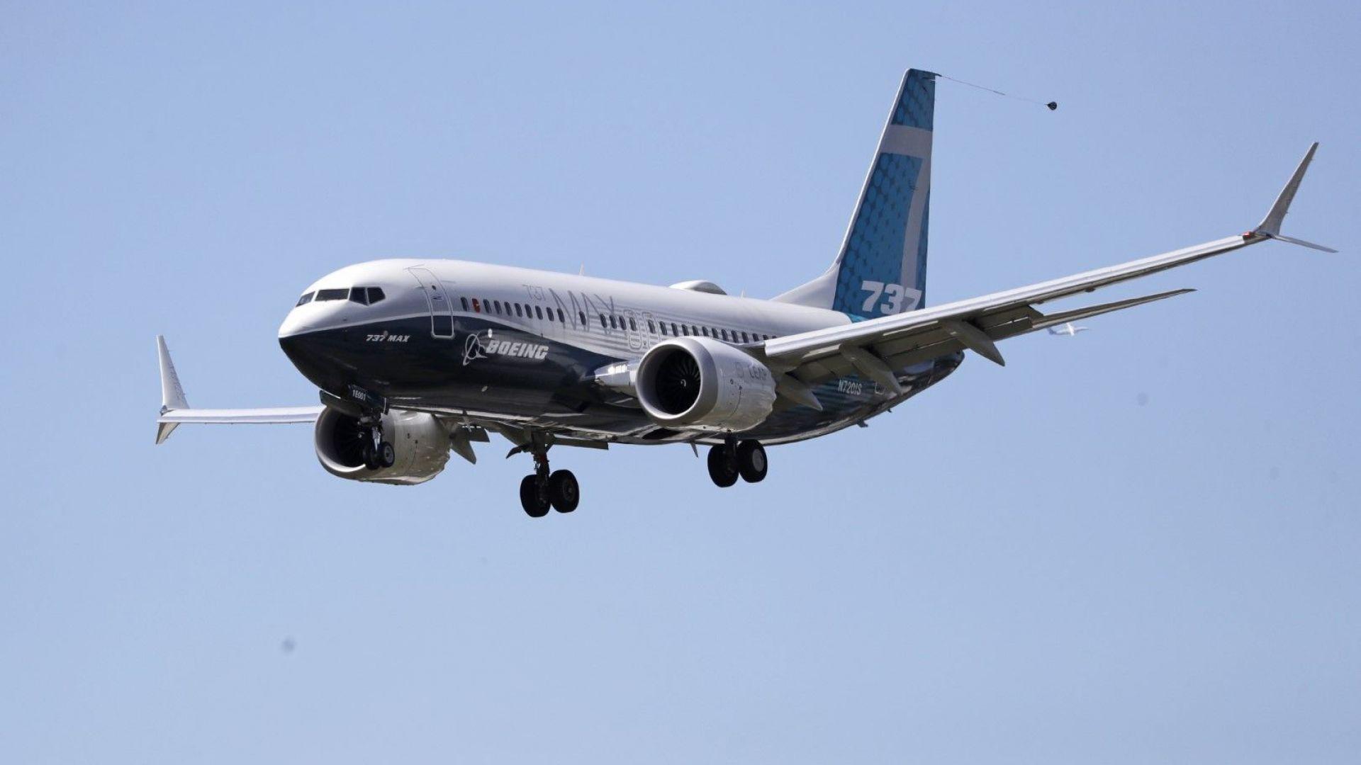 Боинг 737 Макс извърши първия си тестови полет