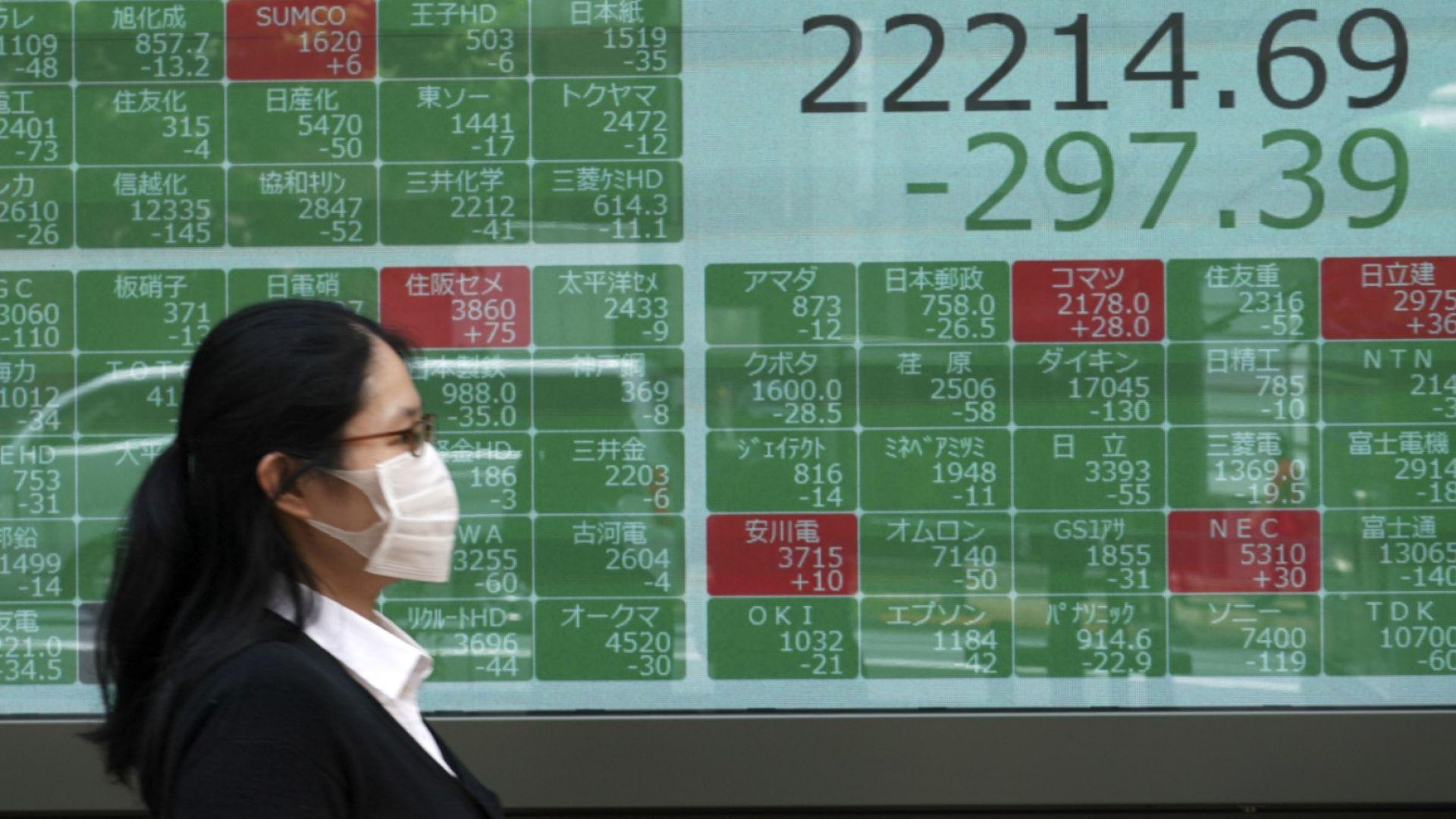 Китай трупа големи количества японски ДЦК