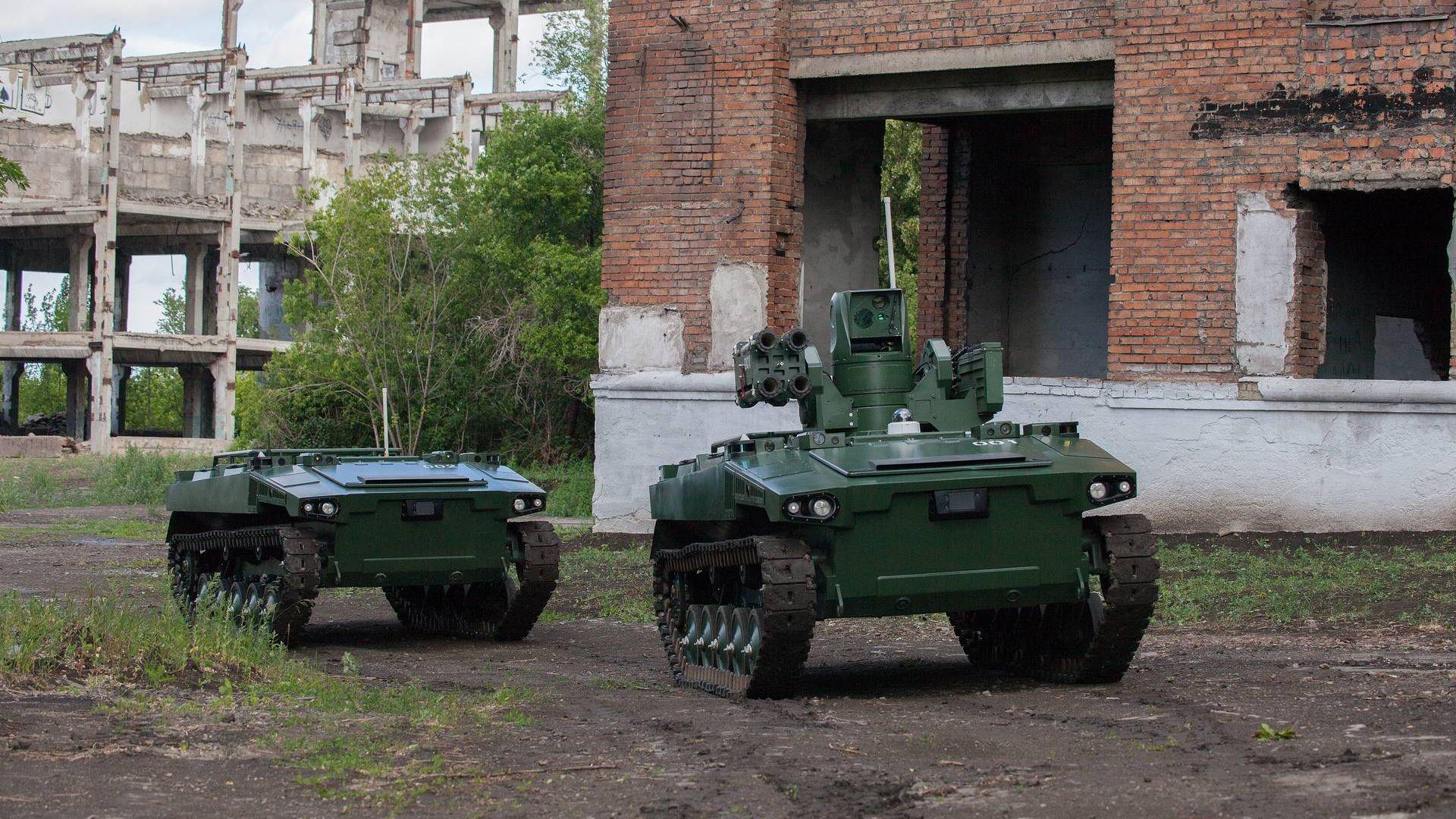 Русия показа робот-войник в действие (видео)