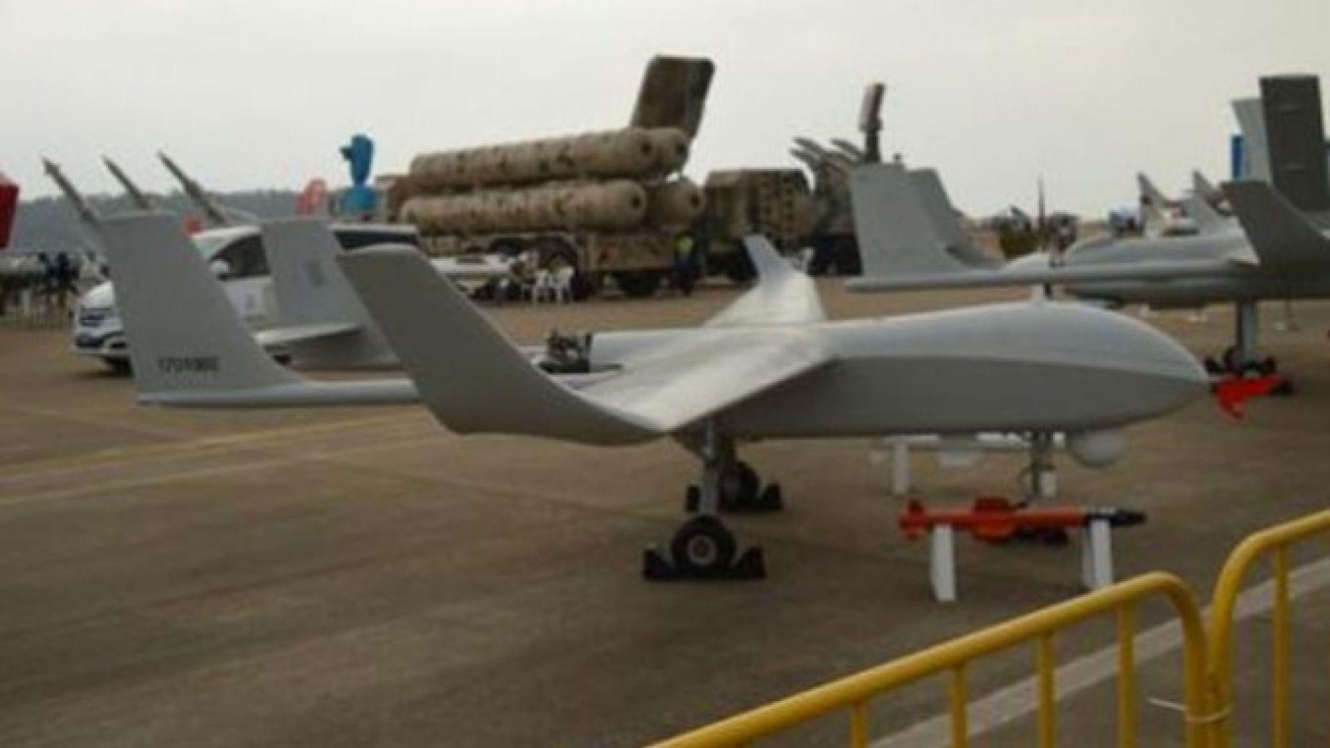Китай достави безпилотните дронове СН-92А на Сърбия