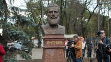 Откраднаха паметника на Христо Ботев в Одеса