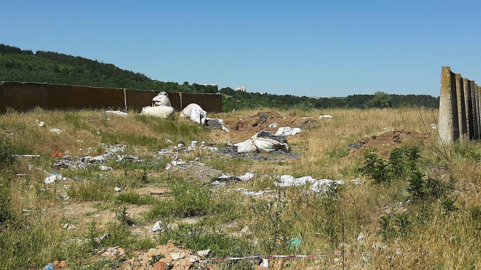 Отпадъците, открити в Червен бряг, са внос от Словакия и Румъния