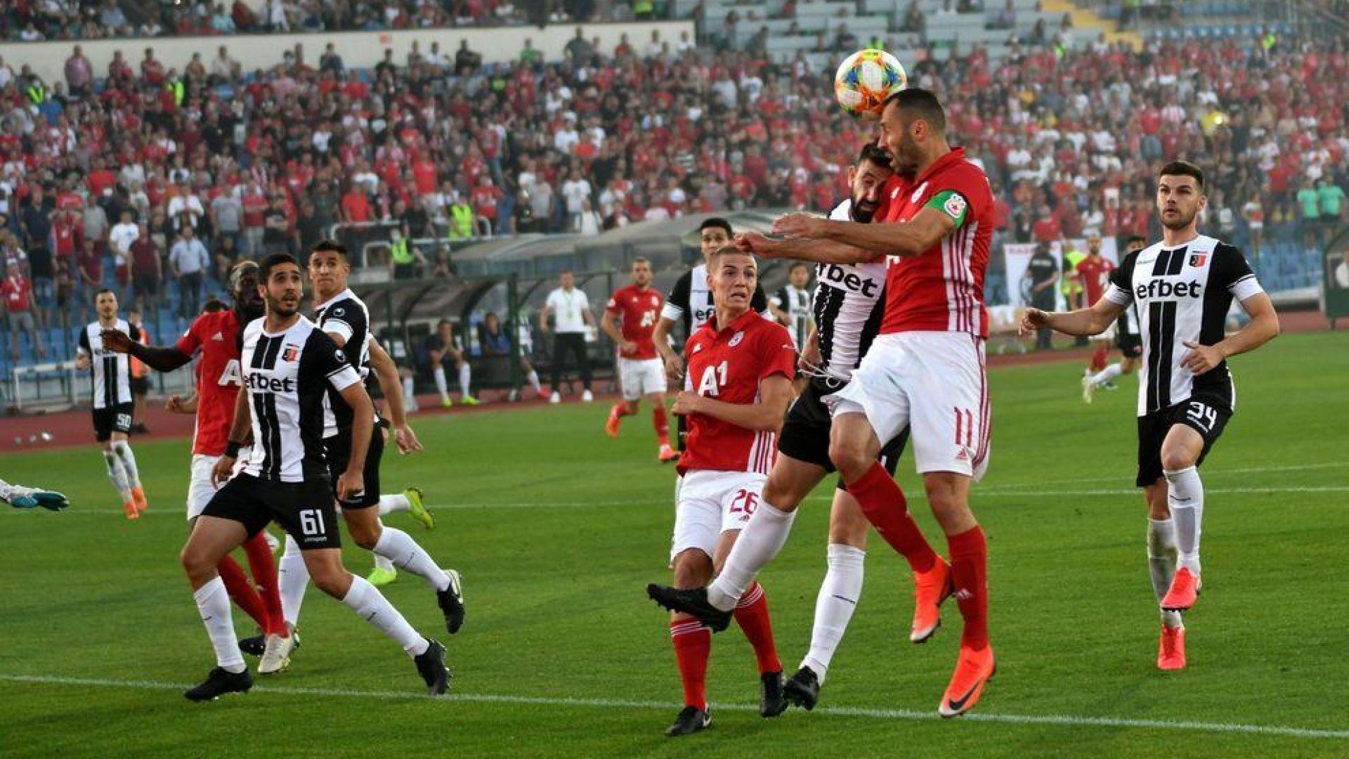 Спряха публиката за мача на ЦСКА в Пловдив