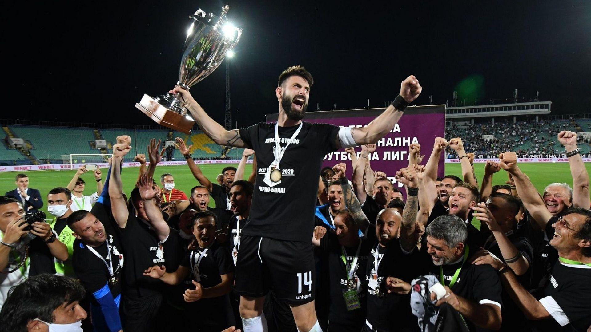 Димитър Илиев отново е Футболист №1 на България и се нареди до легенди