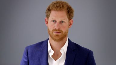 Принц Хари за силата на спорта в документален филм