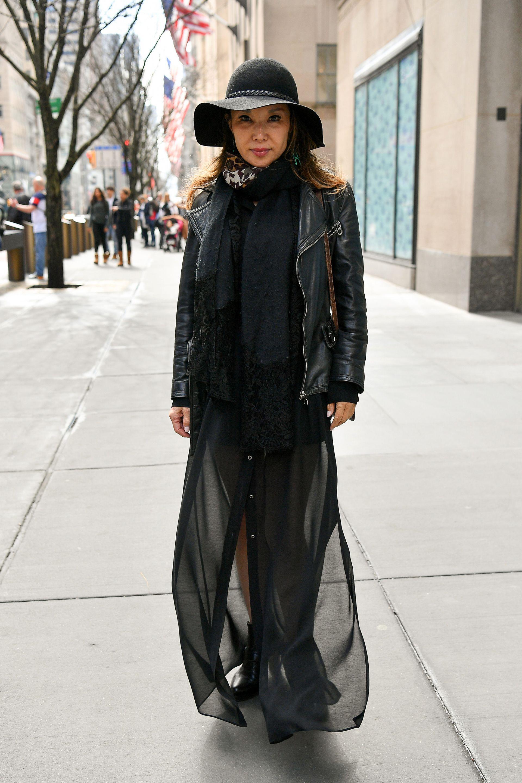 Стрийт черна мода в Ню Йорк
