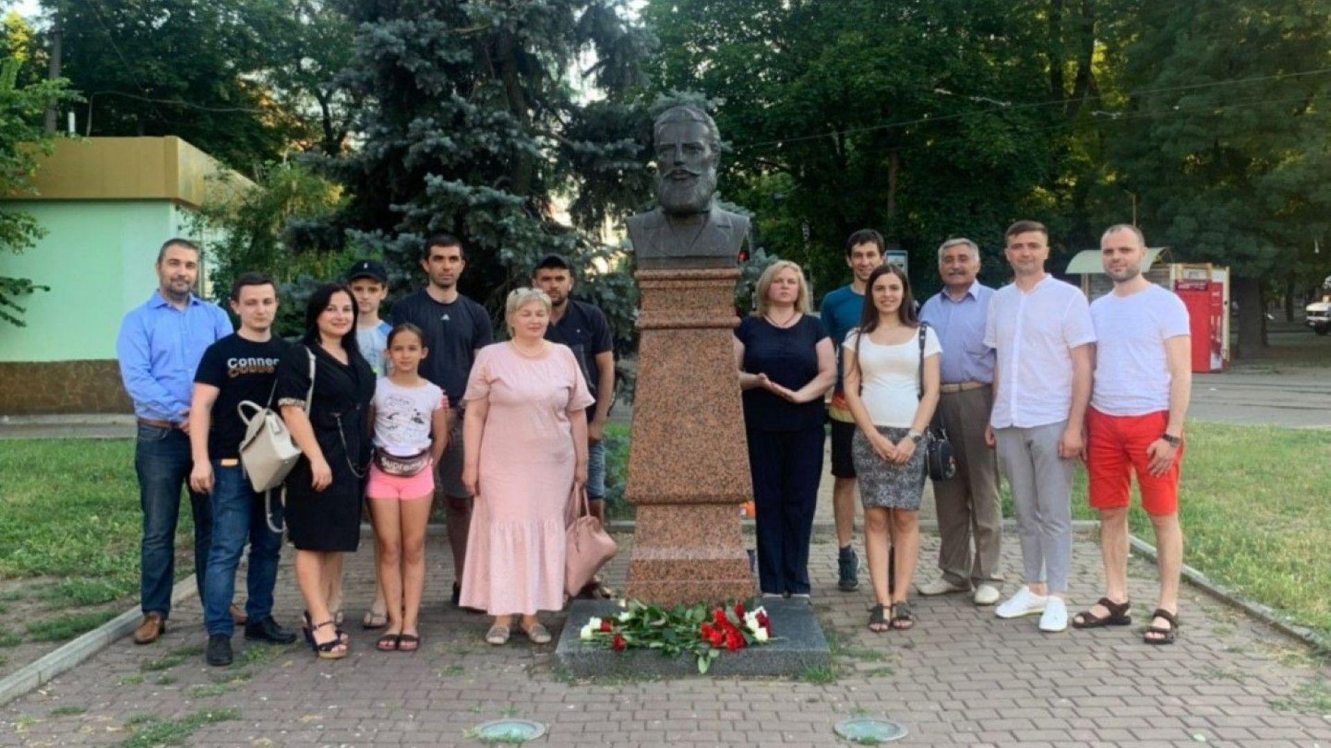 Конгресът на българите в Украйна възстанови паметника на Христо Ботев в Одеса