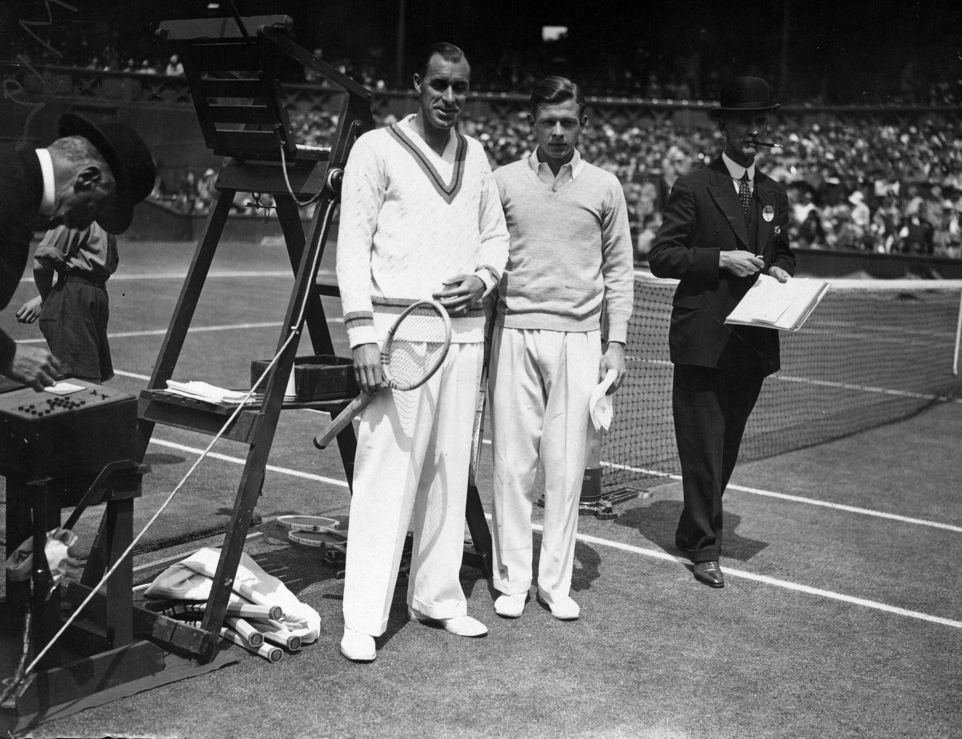 """На """"Уимбълдън"""" през 1929 г."""