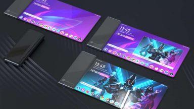 LG подготвя смартфон с навиващ се на руло екран