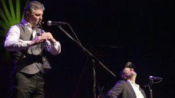 Влатко Стефановски и Теодосий Спасов на сцената на Sofia Summer Fest