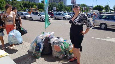 """Близо 5 тона пластмасови отпадъци бяха събрани в кампанията """"Книги за смет"""" с подкрепата на Kaufland България"""