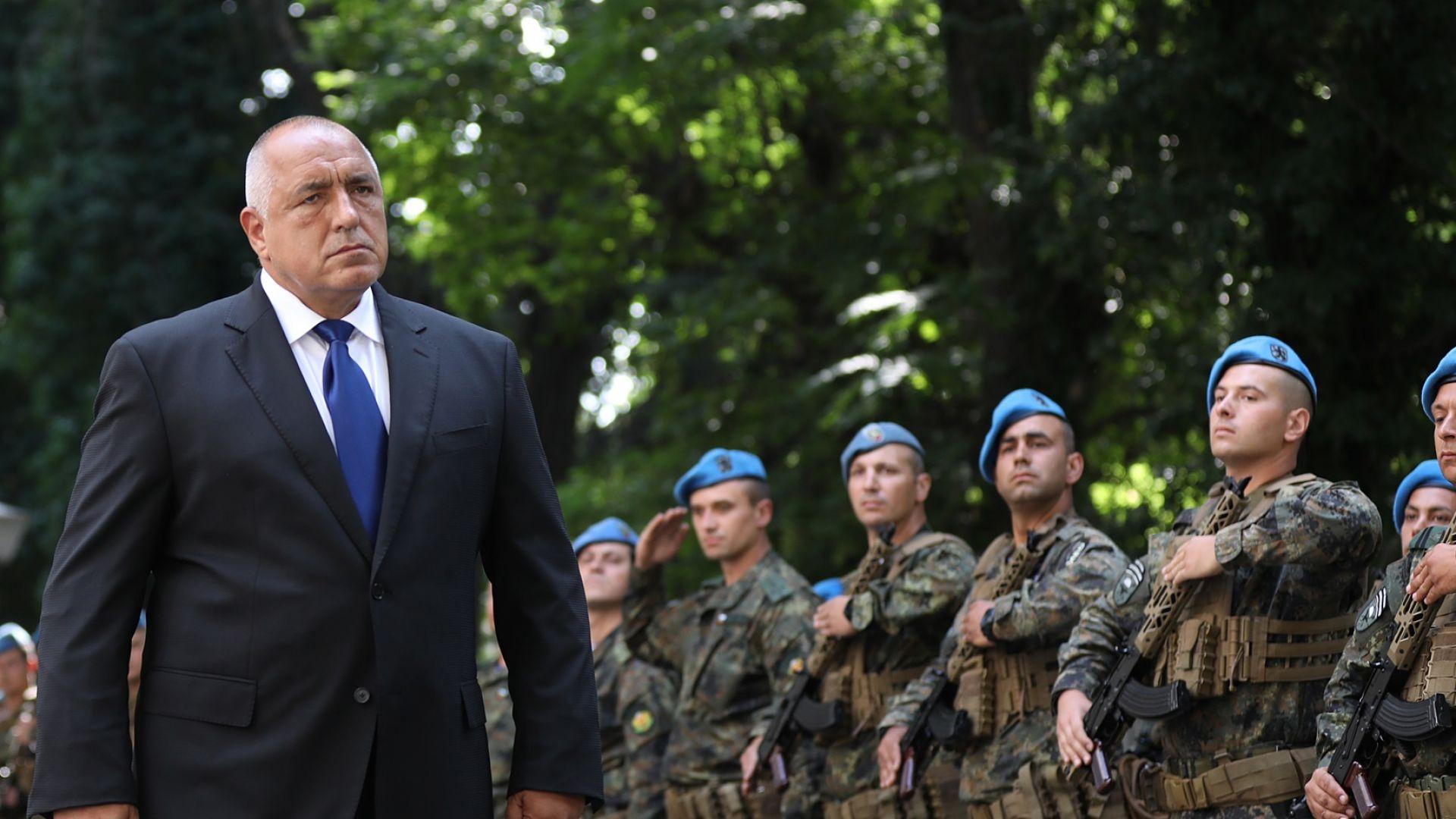 Борисов връчи бойното знаме на Командването на спецоперациите: Разчитаме най-много на тях! (видео)