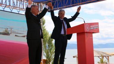 Кандидатът за първи премиер албанец  на Северна Македония: Разбийте стените на национализма!