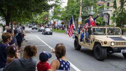 Стотици хиляди се струпват в центъра на Вашингтон в очакване на шоуто за Деня на независимостта
