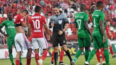 ЦСКА - Лудогорец 1:0, две греди за домакините, отмениха редовен гол на шампионите*