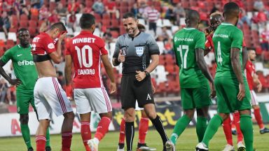 ЦСКА - Лудогорец 1:1, три греди за домакините, отмениха редовен гол на шампионите