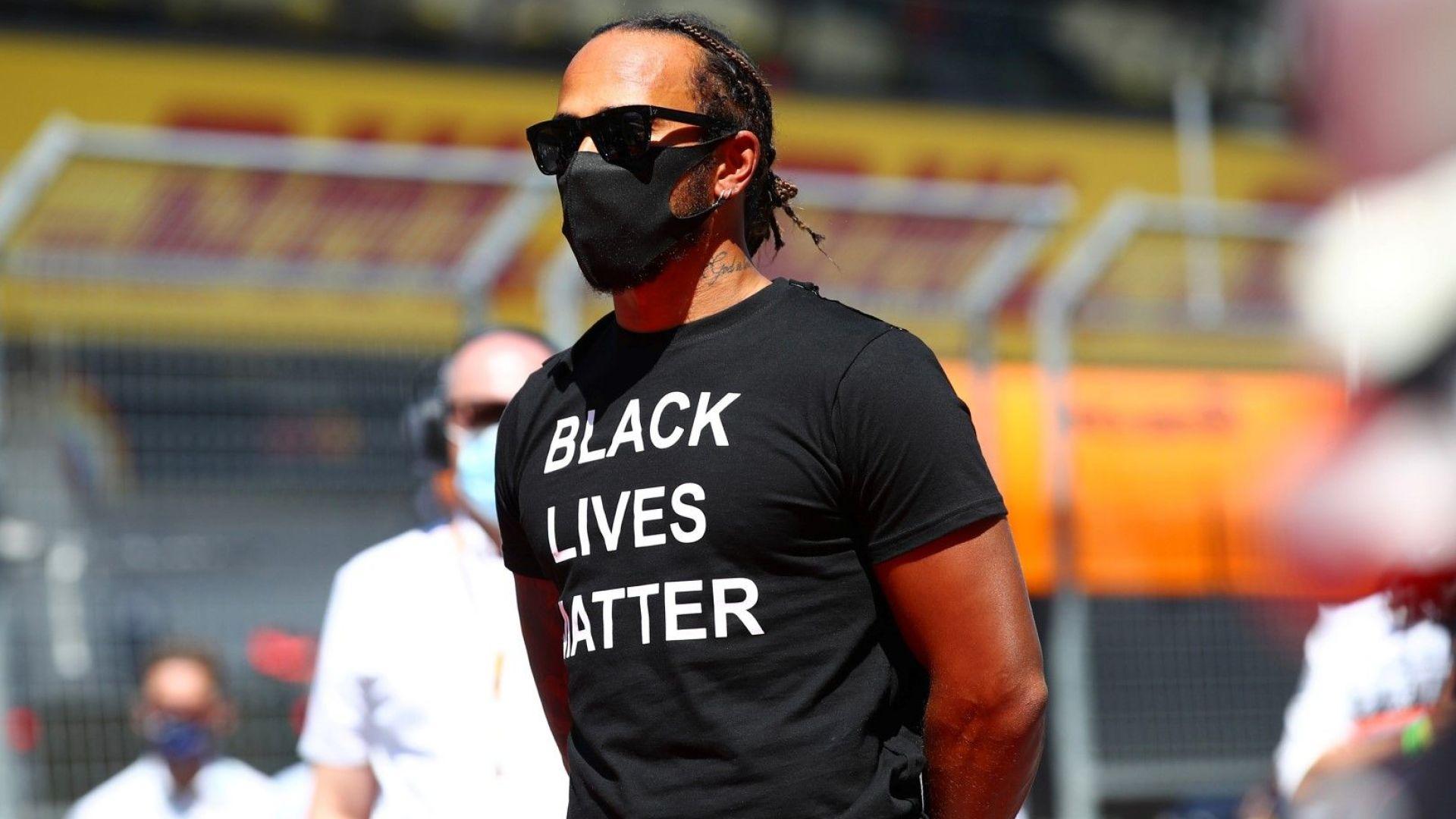 """Хамилтън атакува """"Ферари"""" и свои колеги за бездействие в битката с расизма"""