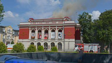 Локализираха пожара в Операта в Русе, щетите обаче са големи