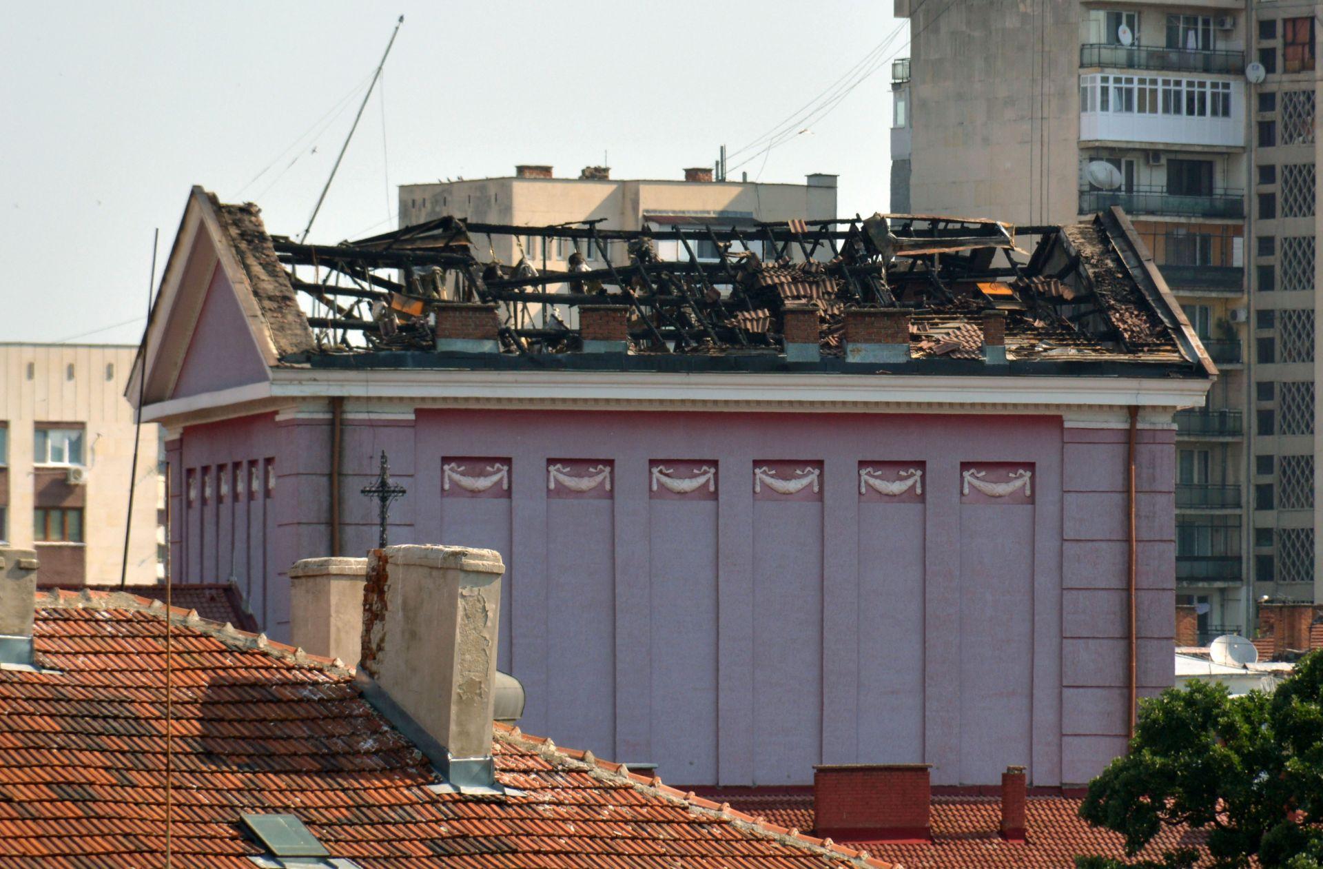 След пожара в операта в Русе
