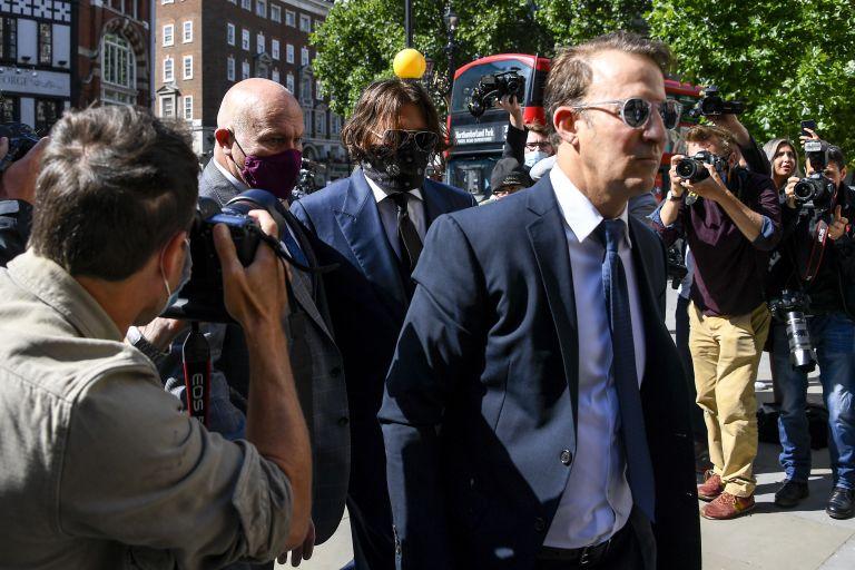 Джони Деп влиза в лондонския съд