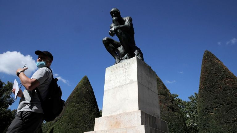 Музеят на Роден в Париж отвори врати с тревожна загуба на посетители и доходи