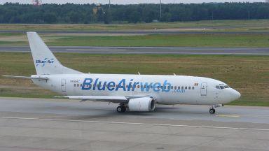 Румънската нискотарифна авиокомпания Блу еър избегна фалит