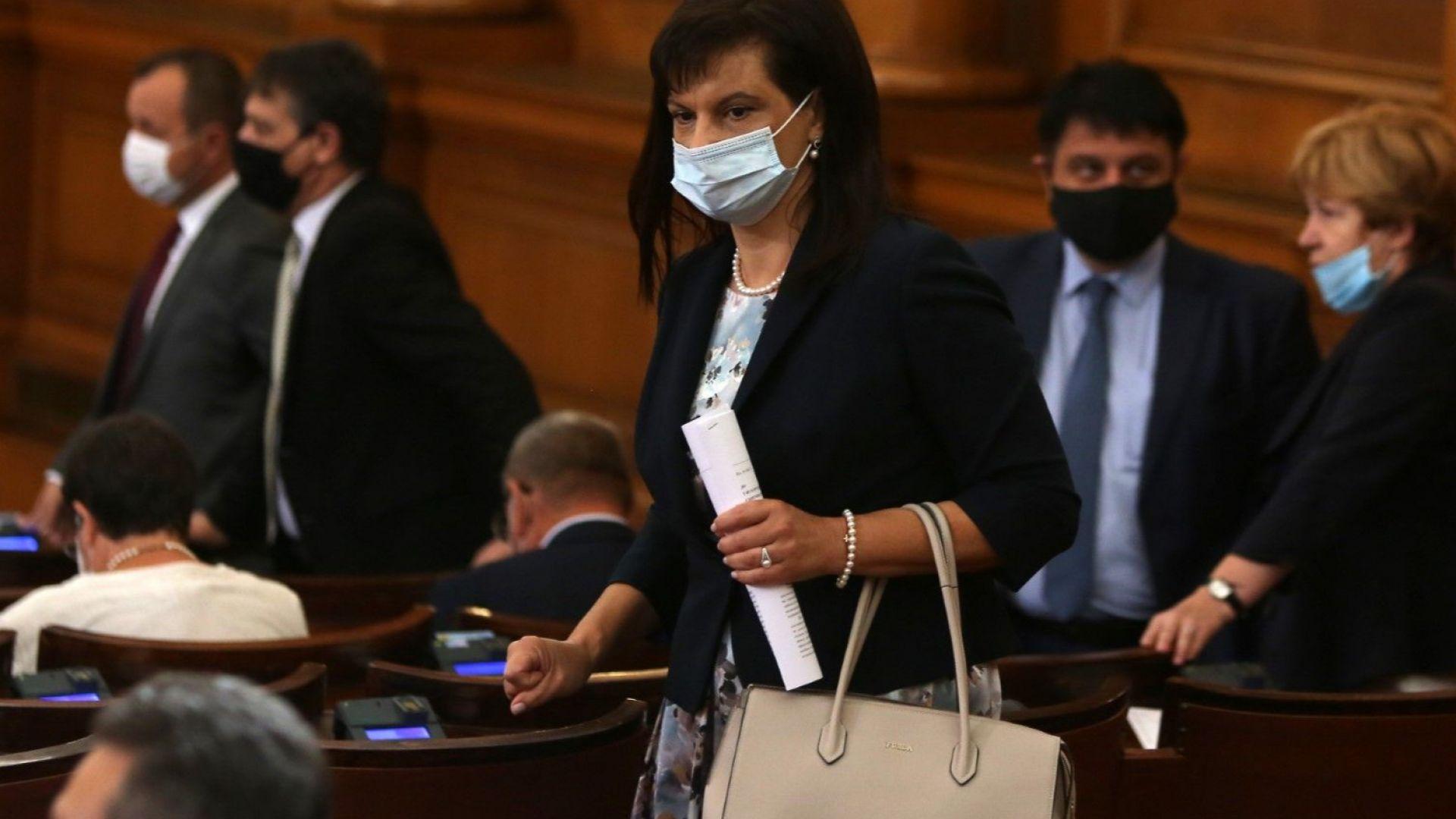 Даниела Дариткова: С оставките демонстрираме, че нямаме никакви зависимости