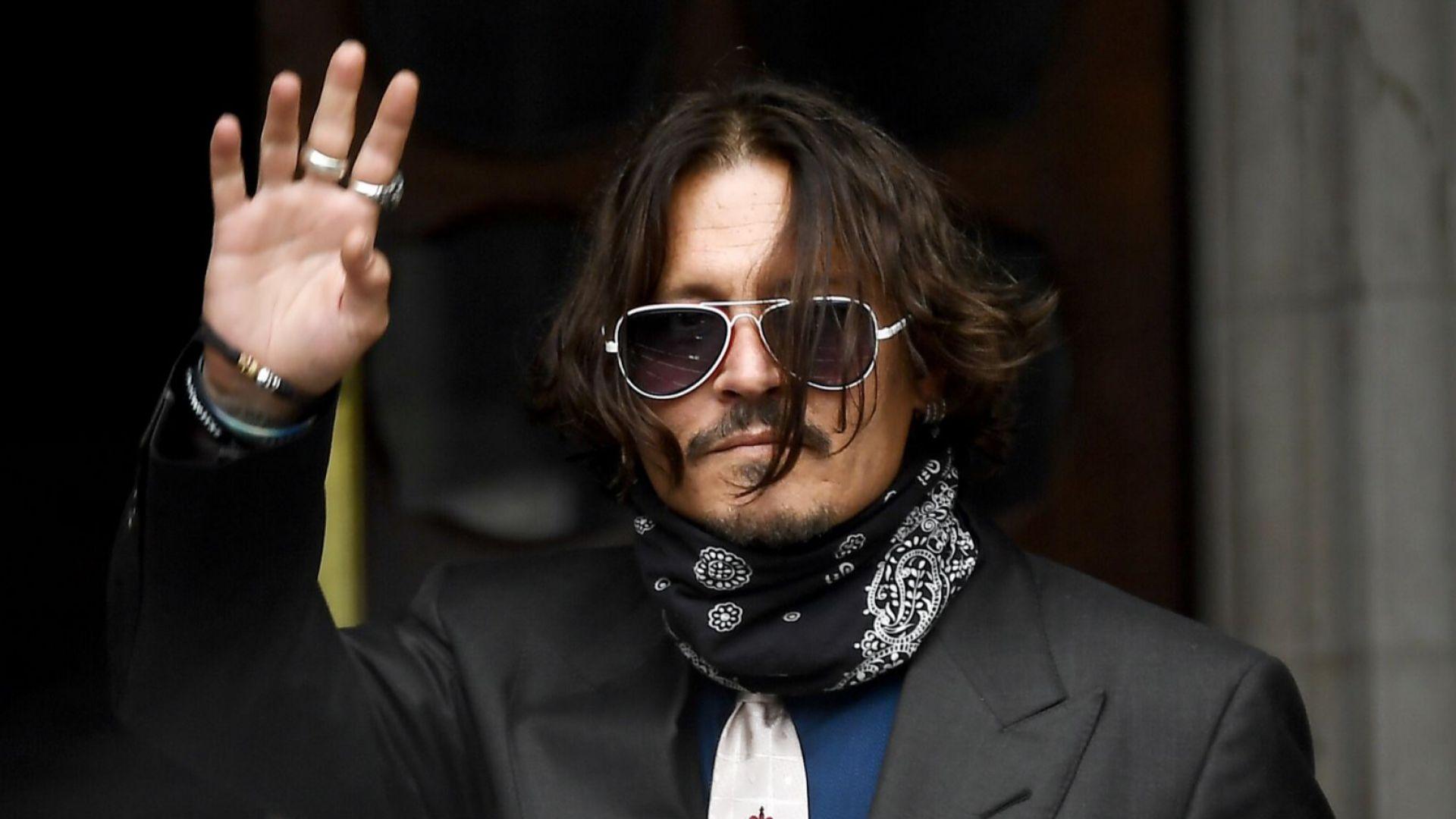 Ванеса Паради и Уинона Райдър няма да свидетелстват на процеса на Джони Деп в Лондон