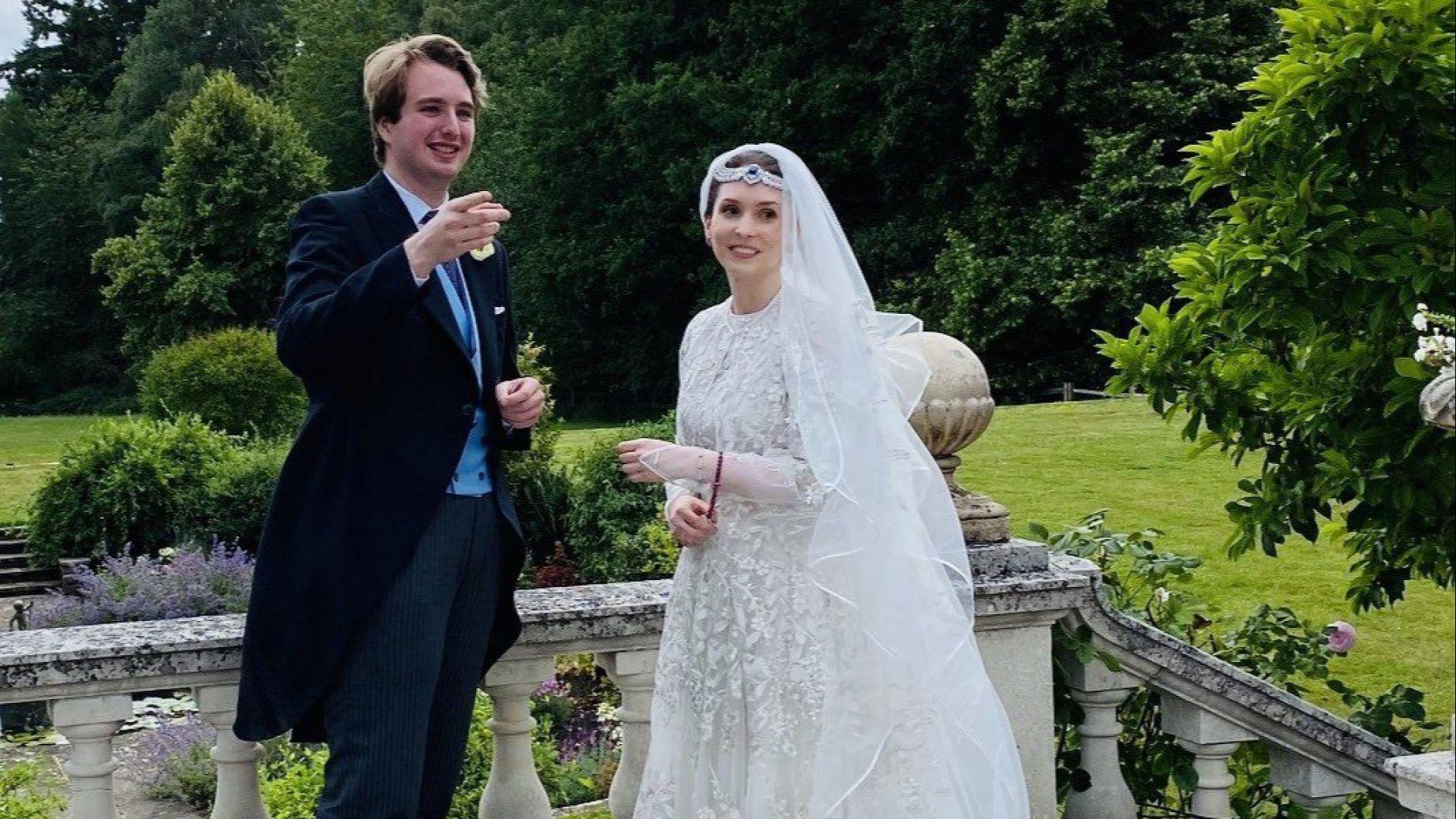 Внукът на писателя Роалд Дал се ожени за йорданска принцеса