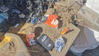 Леки нива на радиоактивност в скритите над 120 т отпадъци край Червен тях