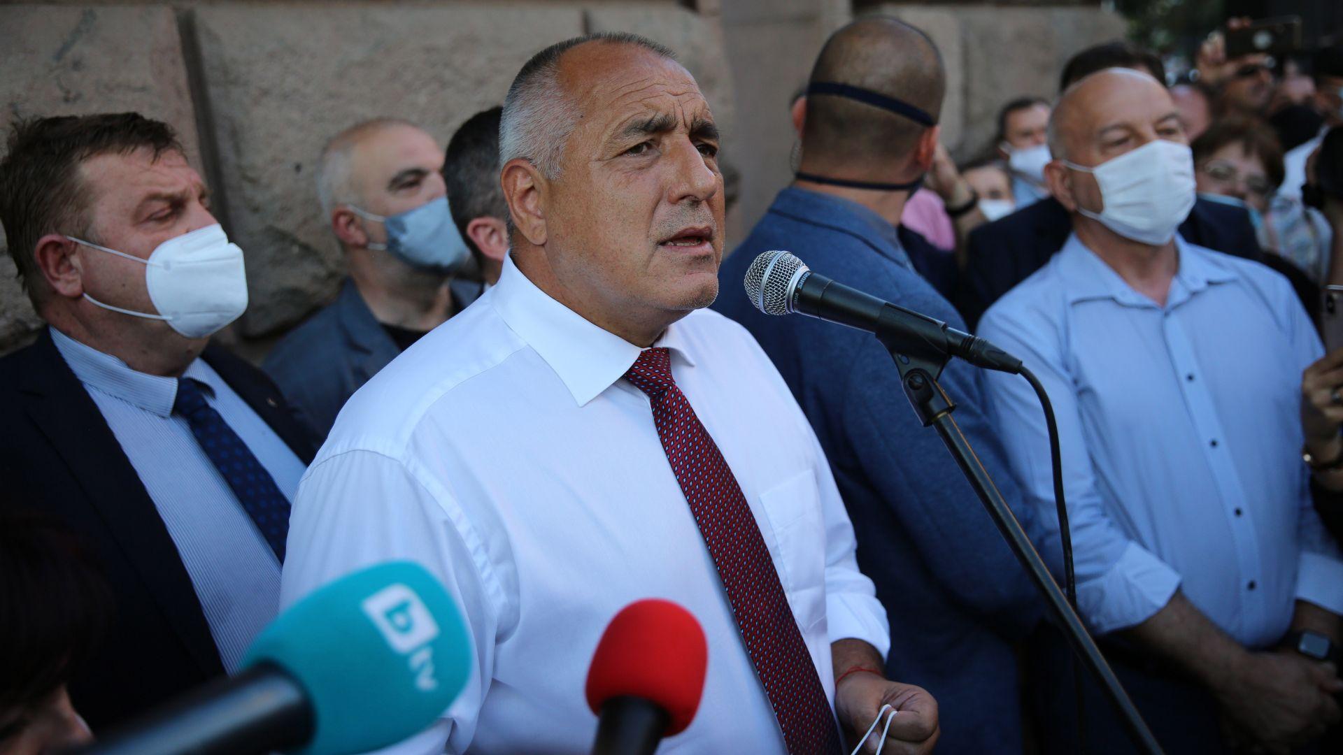 Прокуратурата разследва записа, на който се смята, че говорят Борисов и Дончев