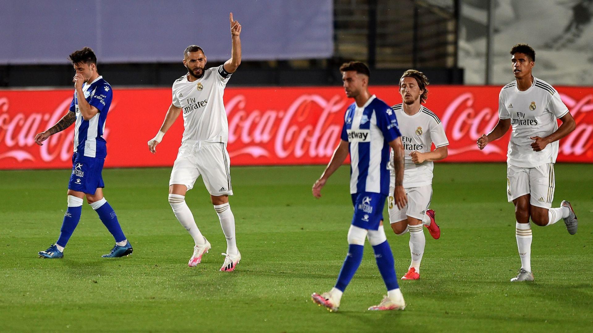 Осма поредна победа за Реал, който сложи ръка на титлата