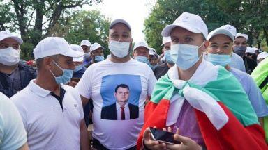 "Напрежение край ""Росенец"", протестът се мести край Община Бургас"