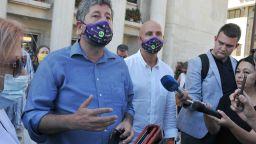 """Христо Иванов пак тръгна към парк """"Росенец"""" заради блокирания път (видео)"""
