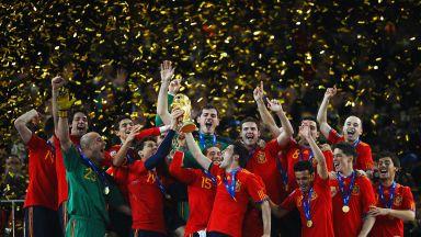 Преди точно 10 години: Светът бе в краката на Испания