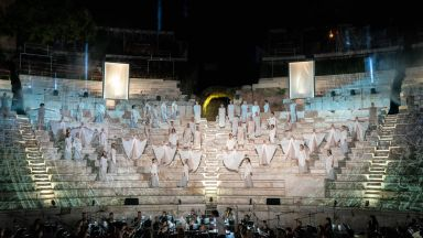 Спектакъл-сън откри OPERA OPEN 2020 в Античния театър в Пловдив