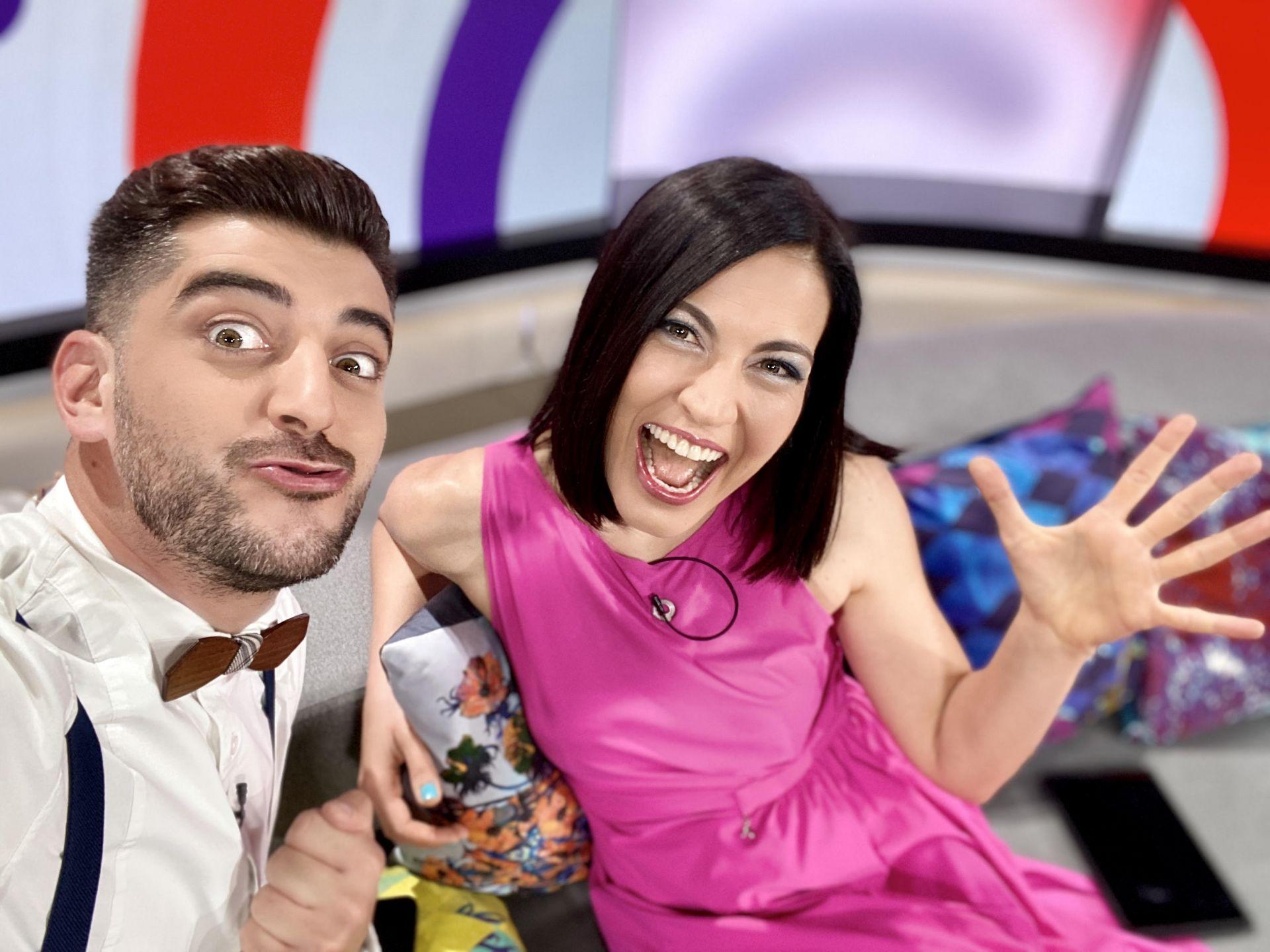 Деси Стоянова и Сашо Кадиев