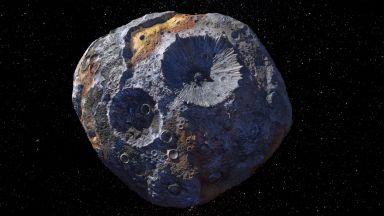 """НАСА праща сонда на """"астероид от злато"""""""