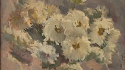 Националната галерия поднася цветя на медиците