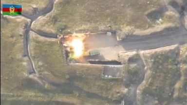 Поне 16 са убитите на границата между Армения и Азербайджан