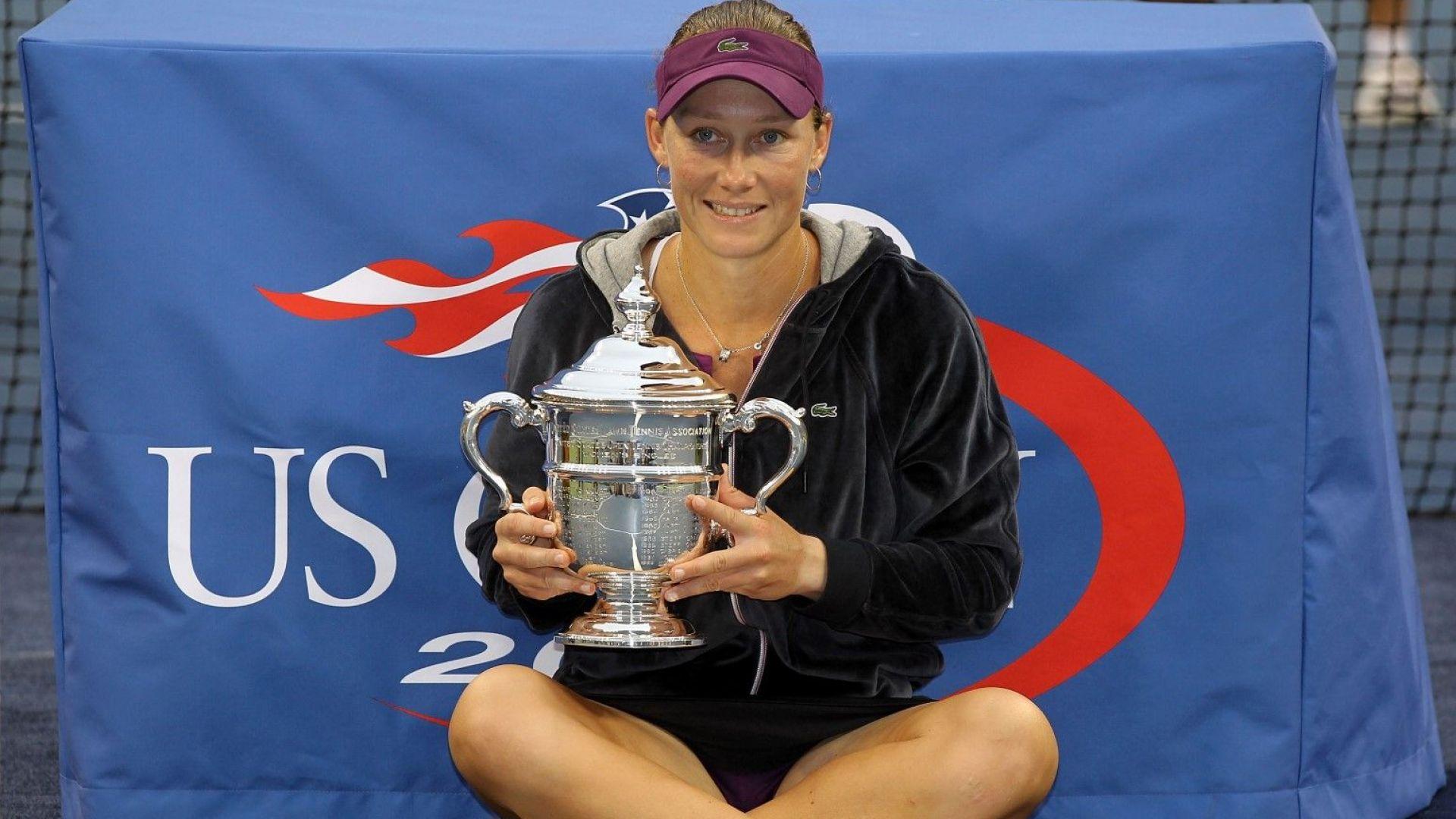 Шампионка от US Open се зарадва на първа рожба заедно с партньорката си