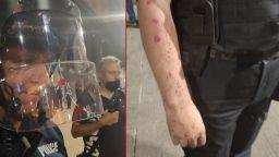 Извънреден брифинг на СДВР: Не пиратки, а бомби и опит за нахлуване в Партийния дом (снимки)
