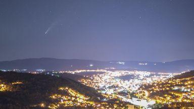 Фотограф засне кометата Neowise над Габрово (снимки, видео)