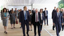 Румен Радев говори за нов управленски модел у нас пред посланиците от ЕС и Швейцария