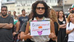 Седми ден на протеста, шествието продължава въпреки оставките