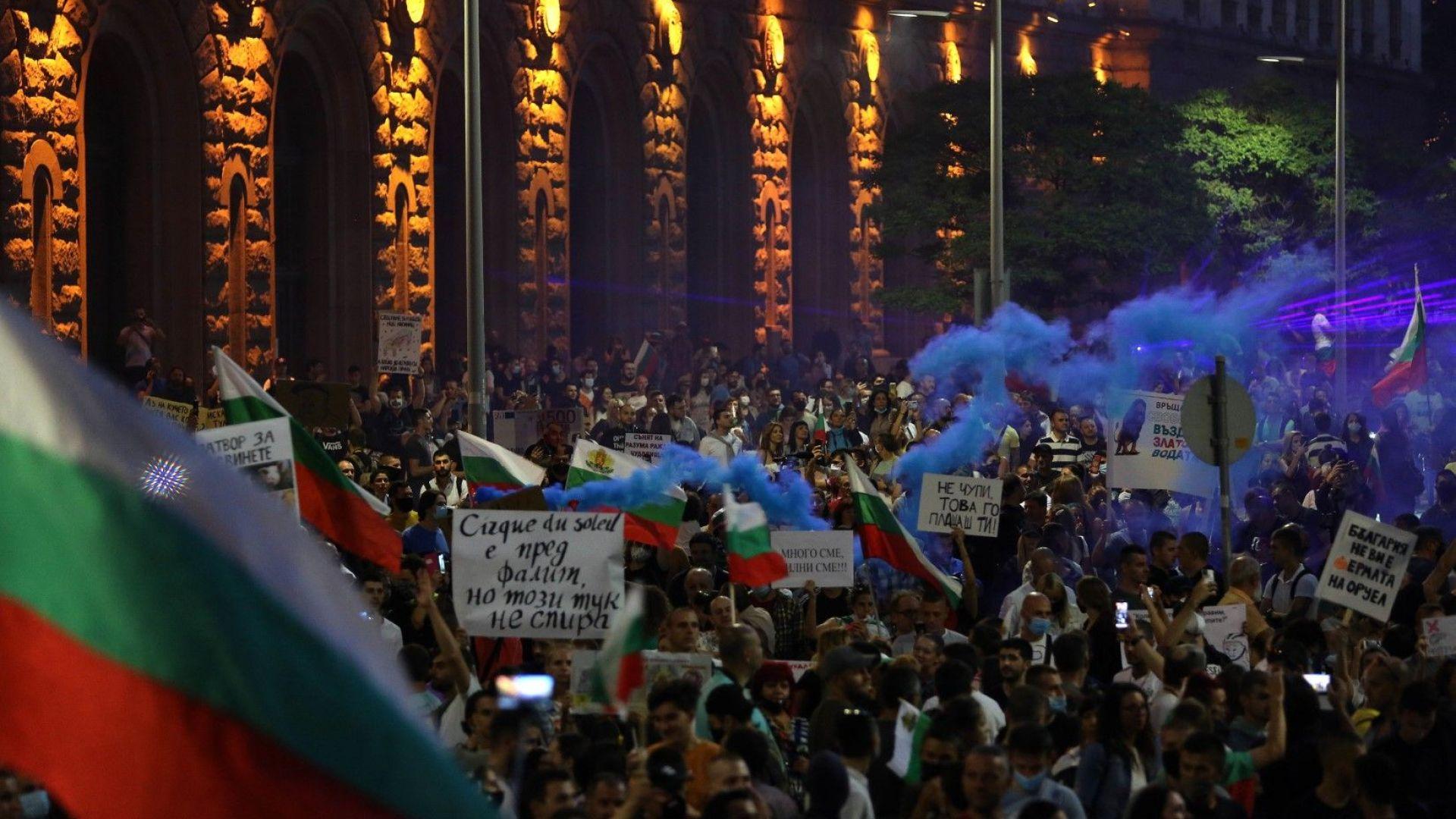 Румяна Коларова: Ако протестите ескалират, възможен е експертен кабинет, начело с шефа на БНБ