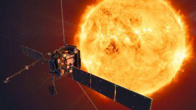 Заснеха Слънцето от рекордно близо