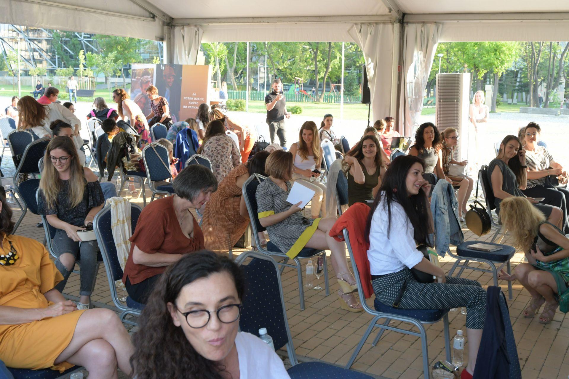 Въпреки протестите и пандемията и при спазени мерки за социална дистанция, събитието се състоя в София Тех Парк